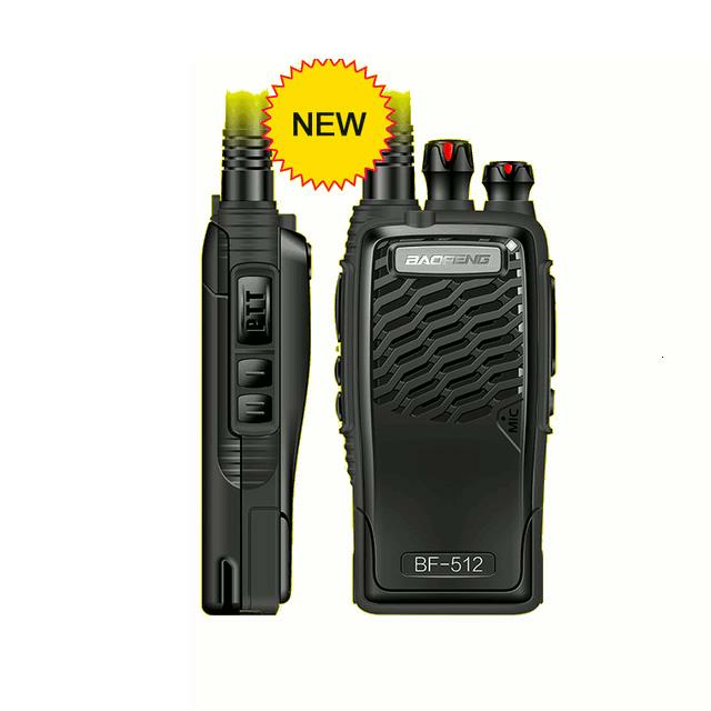 Baofeng 512 Professional Walkie Talkie 5W Portable Two Way Radio UNF 400-470MHz PTT Interphone