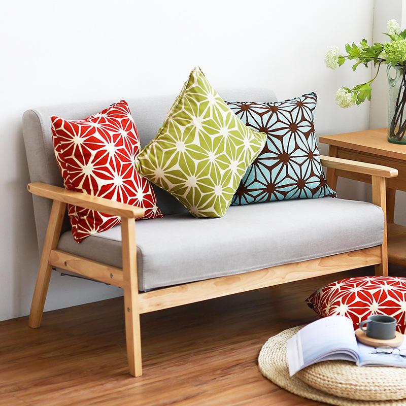 Honana WX-XY3 45cmx45cm Creative Soft Sofa Pillowcase Car Seat Pillow Cushion Cover Student Office Pillowcase Home Decor