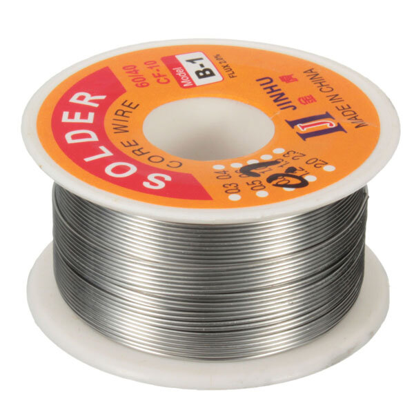 100g 0.7mm 60/40 Tin Lead Soldering Wire Reel Solder Rosin Core