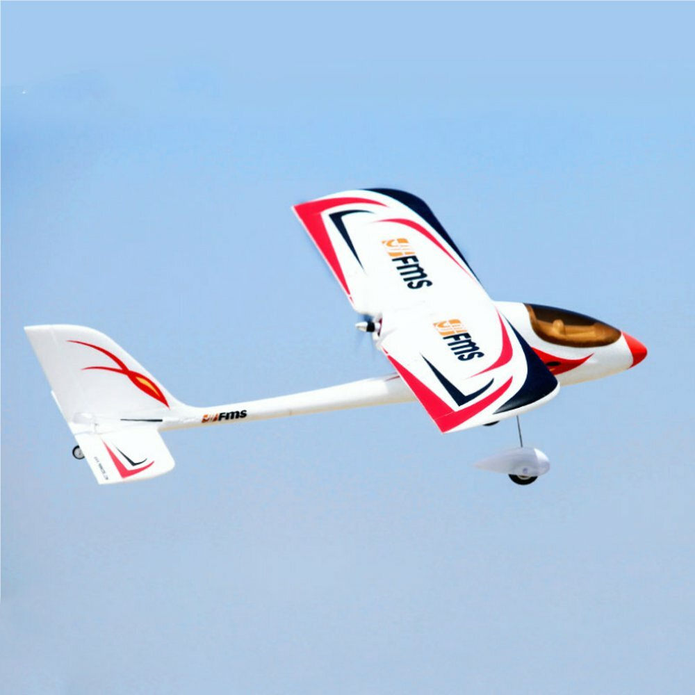 FMS Red Dragonfly 900mm Wingspan EPO 3D Aerobatic RC Airplane Trainer Beginner PNP