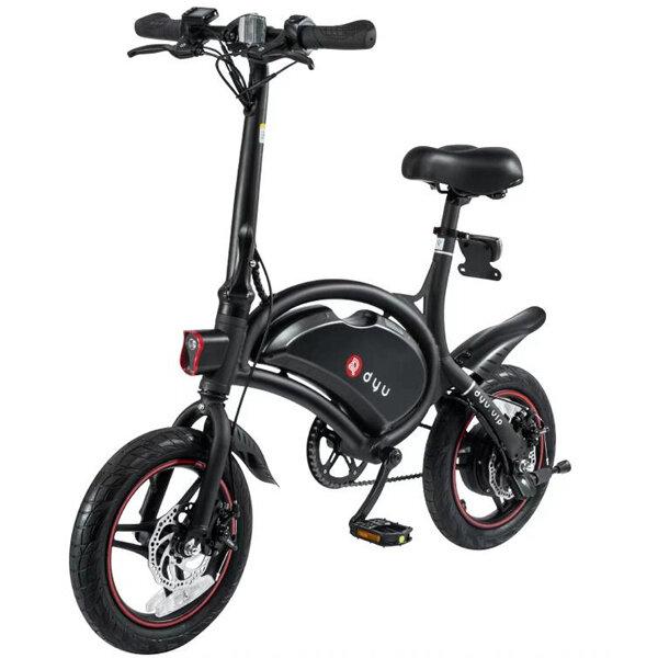 F-wheel DYU D3 250W 36V Folding Electric Bike Aluminum Alloy EU Plug 14 Inch Wheel Tire Max 50KM Mileage Bike