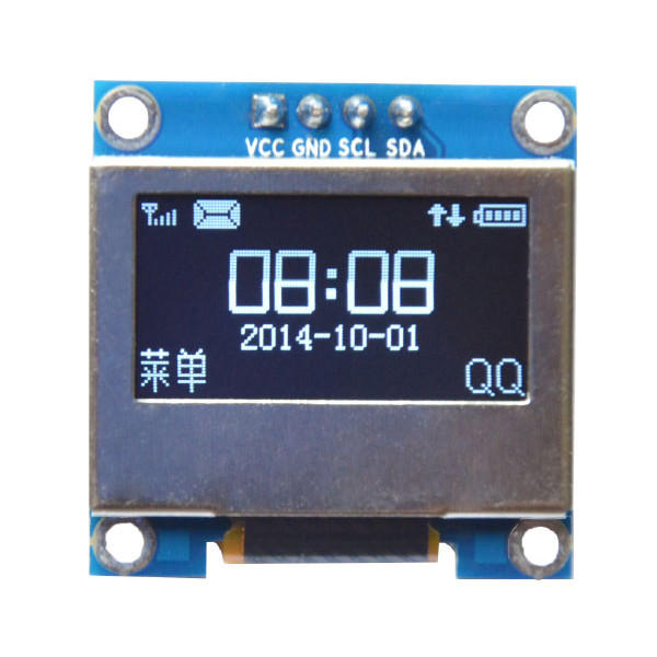 0 96 Inch 4Pin White LED IIC I2C OLED Display With Screen Protection Cover  For Arduino
