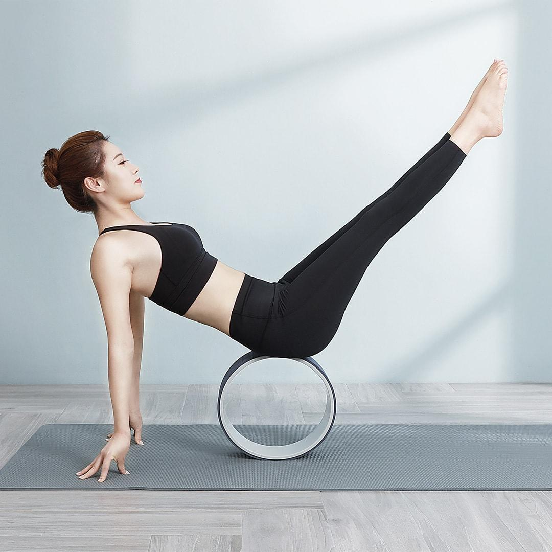 YUNMAI Yoga Wheel Magic Circle Balance Support Cushion Gym Fitness Stretched Beginner Fitness Assist Genuine Back Bend Thin Waist from Xiaomi youpin