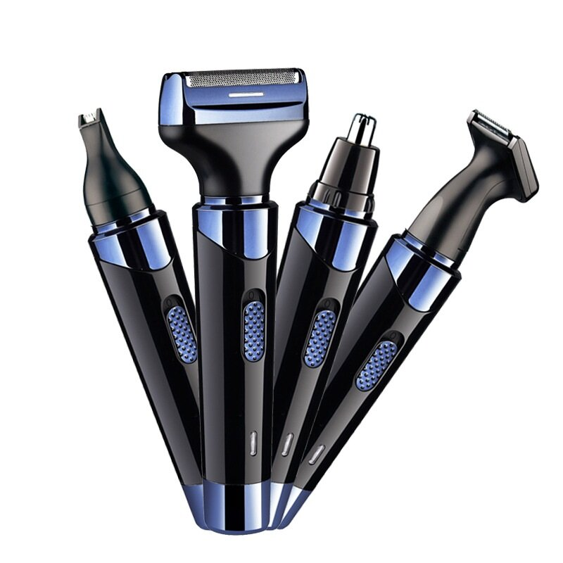 4 In 1 Electric Mini Washable Shaver Hair Trimmer Nose Hair Remover Multifunction Men Epilator