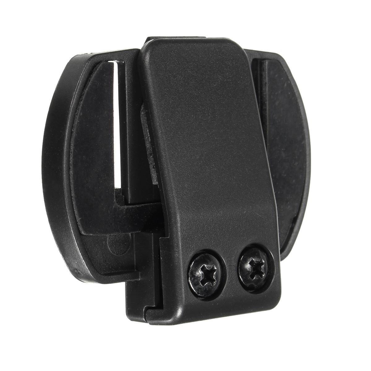 1000M Motorcycle Helmet Intercom Plastic Headset Holder With 2 Screws For V4/V6