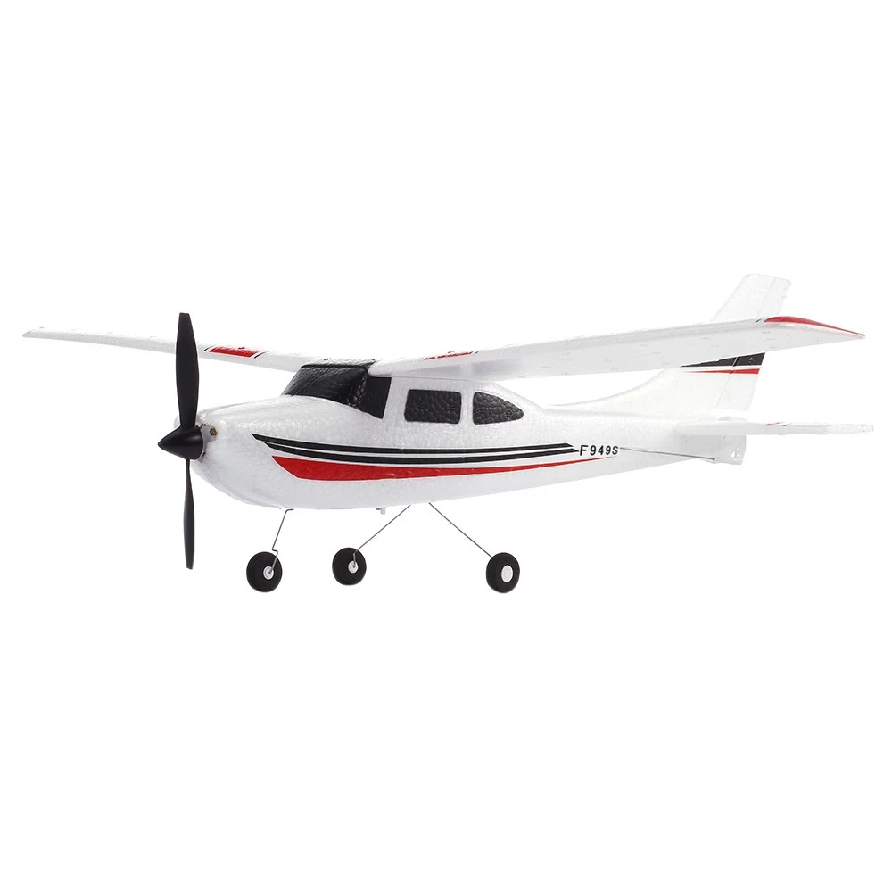 Wltoys F949S 3CH 2.4G Cessna-182 EPP RC Glider Airplane RTFMiniature Model Plane Outdoor Toy Built-in Gyroscope