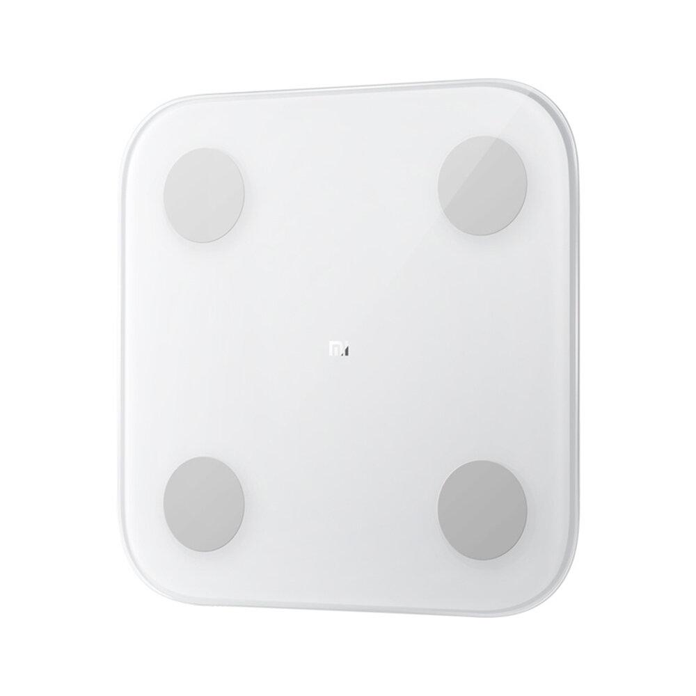 Original Xiaomi SmartBody Scale 2 Hidden LED Display Body Composition APP Monitor Big Feet Pad