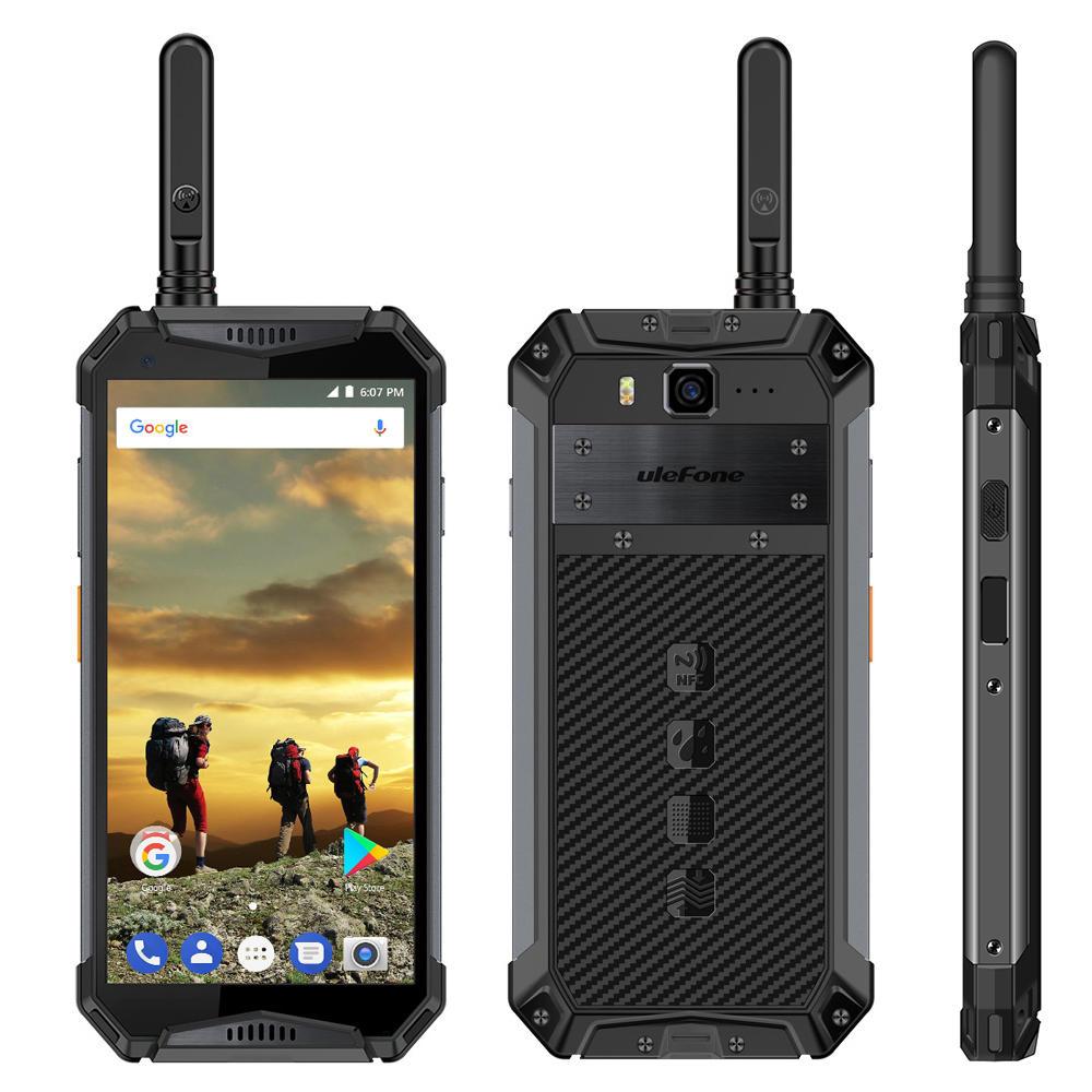Ulefone Armor 3T 5.7 Pollici Walkie Talkie NFC IP68 IP69K 4GB 64GB Helio P23 Octa core 4G Smartphone