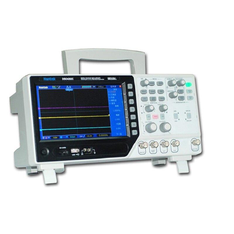Hantek DSO4202C 2 canales digital Osciloscopio 1 canal Generador de forma de onda arbitraria / funcional de fábrica