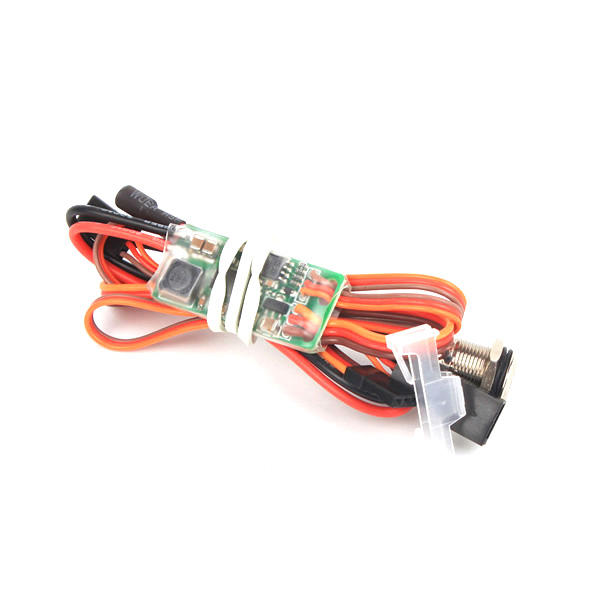 RCEXL Universal On Board Glow System Methanol Engine Ignition With LED Indicator
