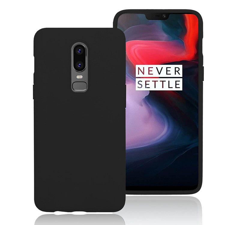 9224d861714 bakeey shockproof soft silicone protective case for oneplus 6 Sale ...