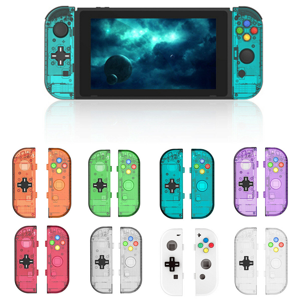 pretty nice 0b736 b8044 Handles Shell Case Protective Replacement Accessories For Nintendo Switch  Joy-con Controller