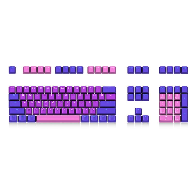 Akko X Ducky Queen 108 Key OEM Profile PBT Keycap Keycaps Set for  Mechanical Keyboard