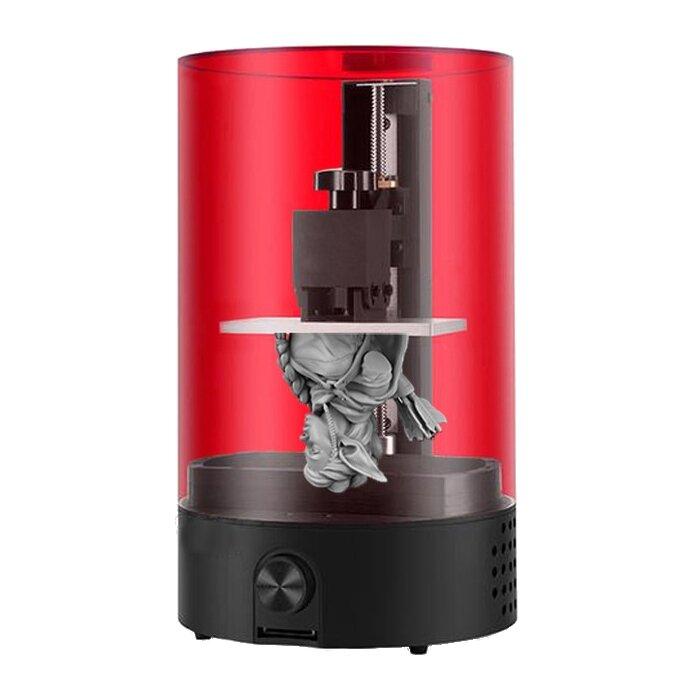 Sparkmaker Işık Kür Masaüstü UV Reçine SLA 3D Yazıcı 98 * 55 * 125mm Yapı Ses Desteği Off-line Baskı