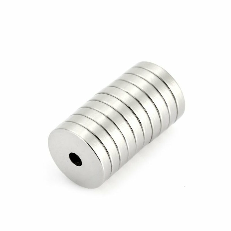 10Pcs 15 x 3mm N52 Magnet Powerful Magnetic Toys NdFeB Round For Kid Adult DIY