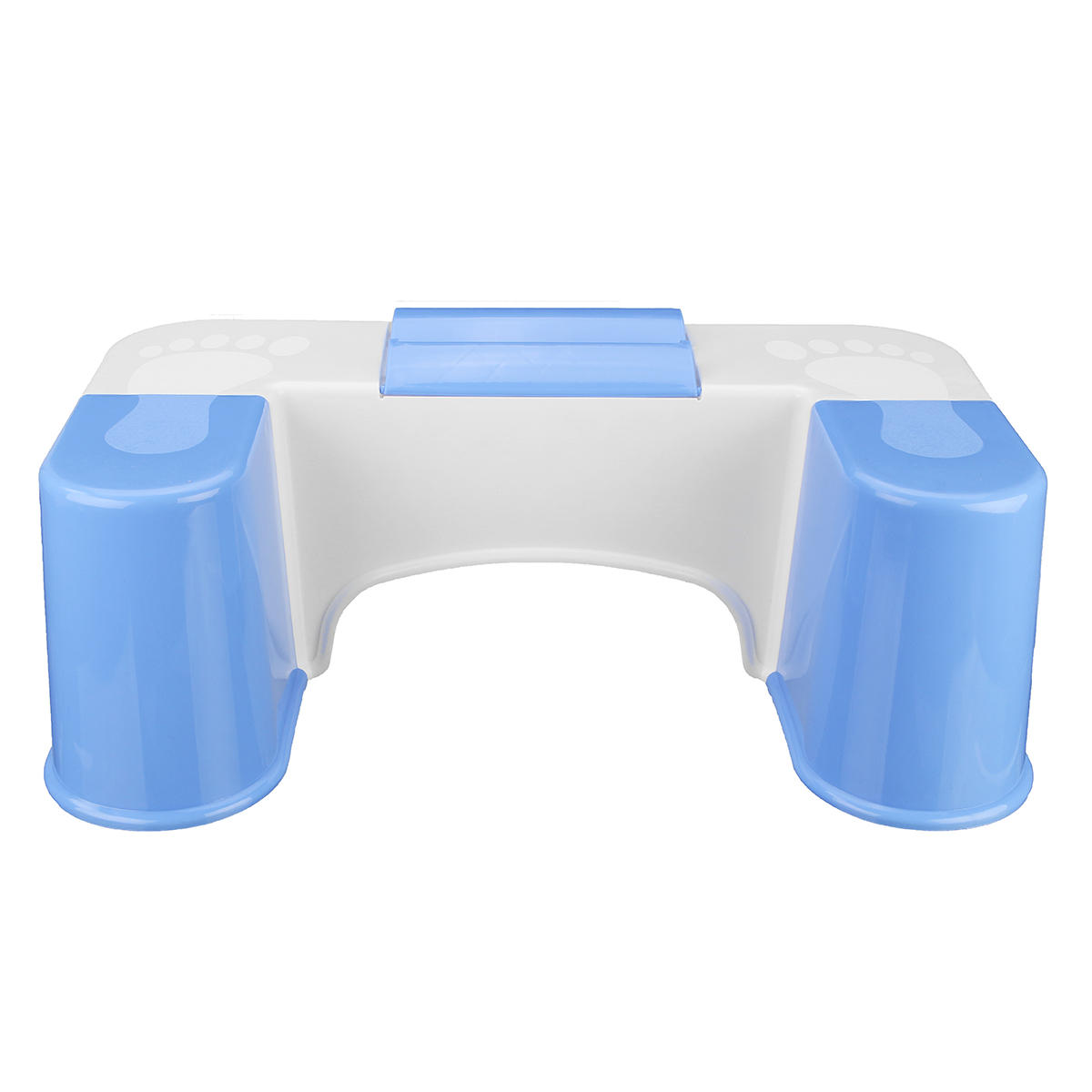 Anti-slip Toilet Toot Stool Crouch Hole Folding Phone Holder Design Bathroom Toilet Accessory