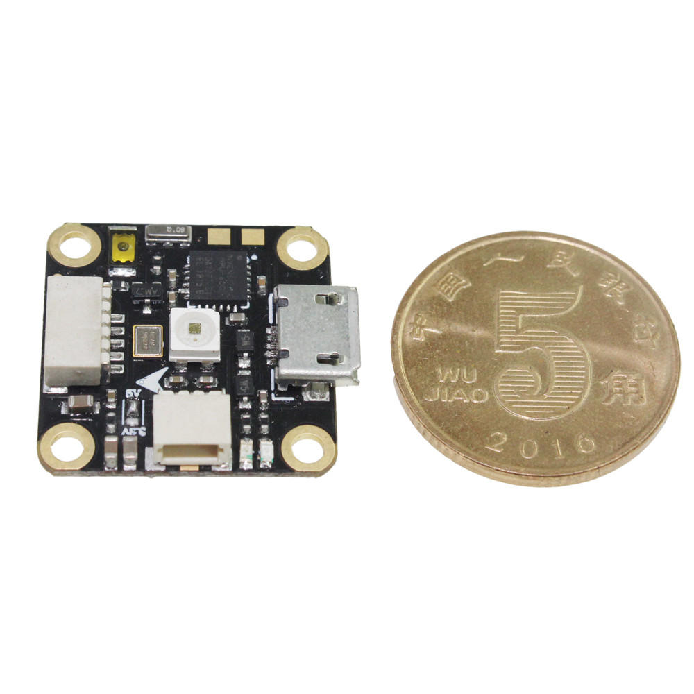 16x16mm HAKRC LEDF4 F4 Flight Controller Integrated with OSD & RGB LED 1S for RC Drone FPV Racing