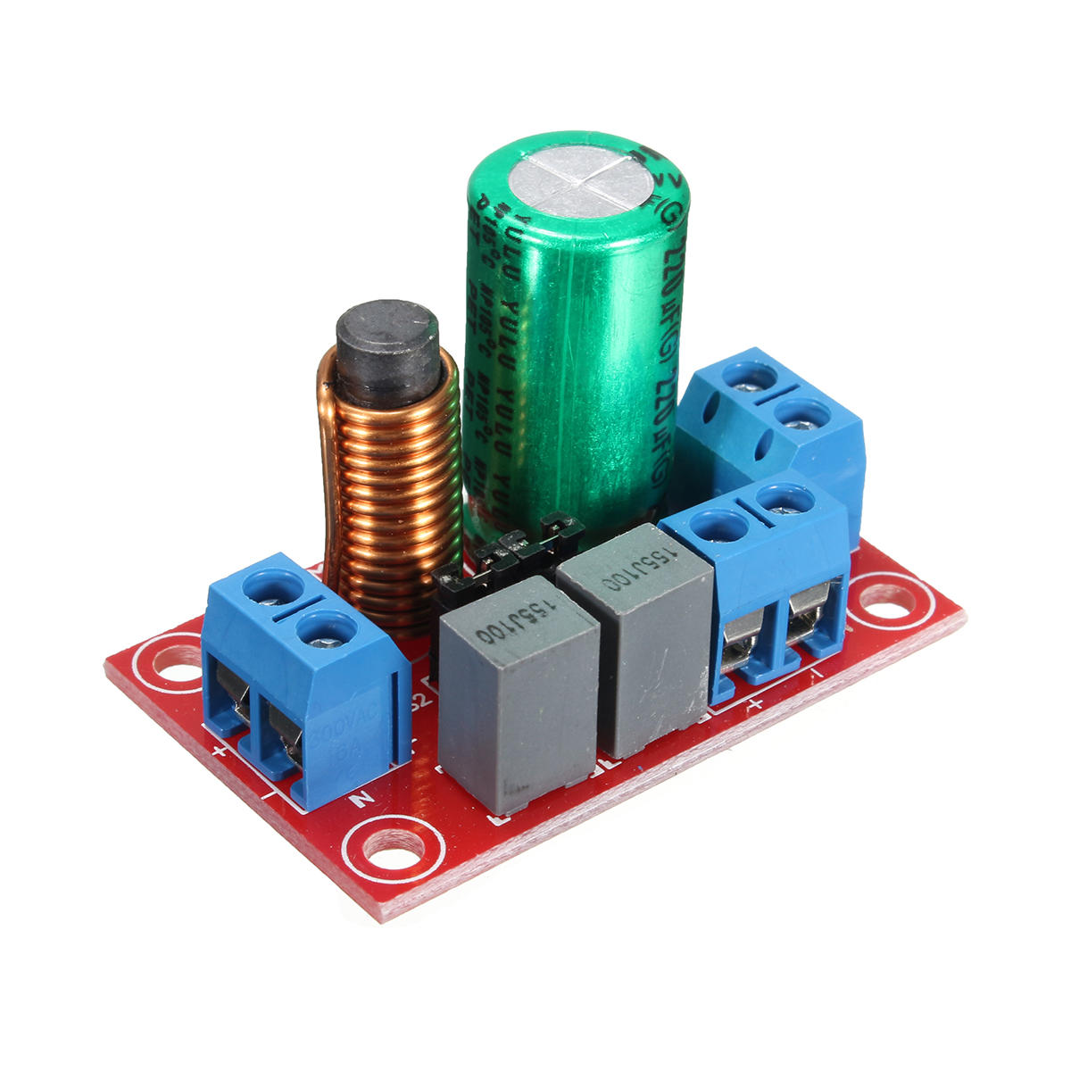 2 Way Audio Frequency Divider Crossover Module Filter Adjustable Treble Bass Board For Speakers