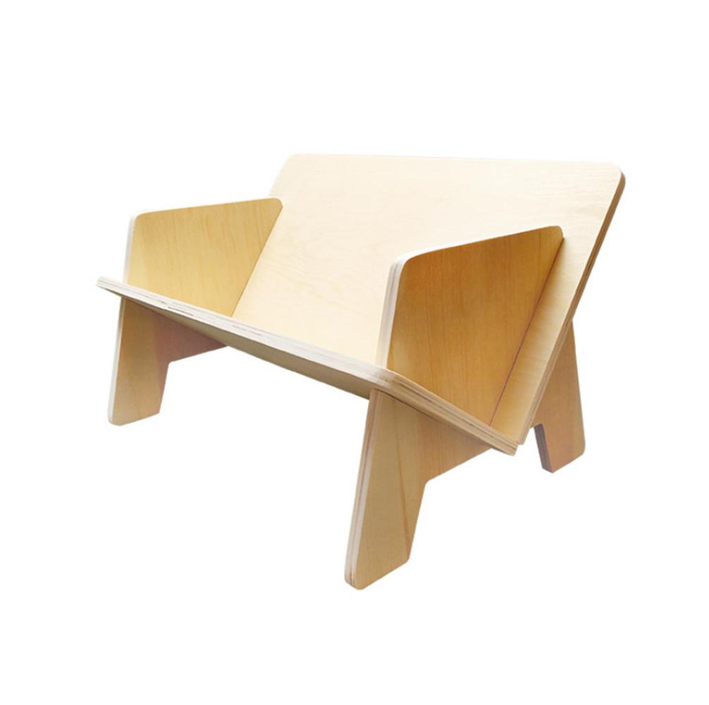 Creative Desktop Office File Rack Mini Assembled Storage Bookshelf Wooden Simple Small Bookshelf, Banggood  - buy with discount