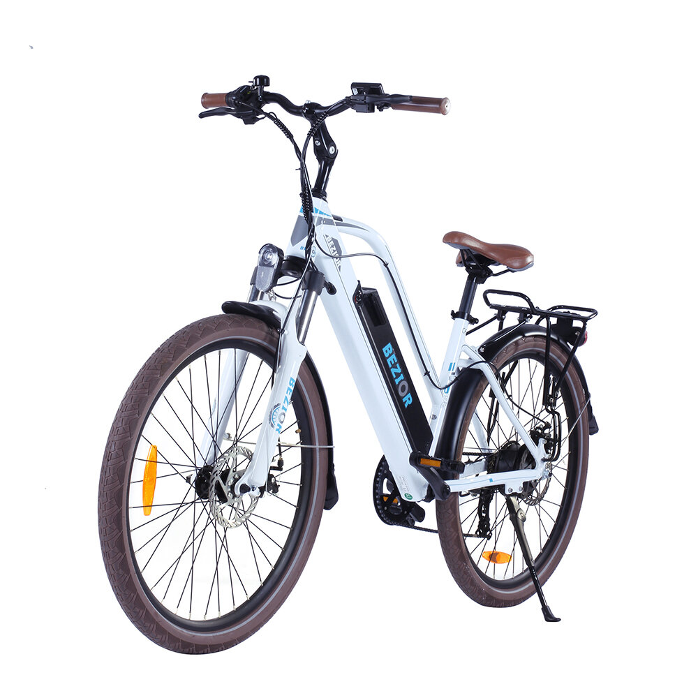 [EU DIRECT] Bezior M2 12.5Ah 48V 250W Folding Moped Electric Bicycle 26inch 25Km/h Top Speed 80km Mileage Range Max Load 120kg