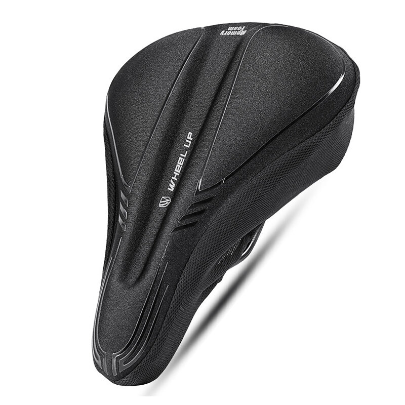 WHEEL UP Memory Foam Cycling Bike Saddle Cover Breathable MTB Road Bicycle Cushion Seat Covers Pads