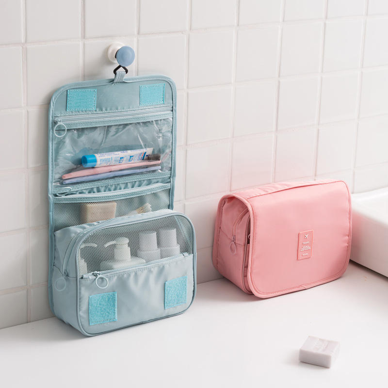 Hanging Toiletry Bag Travel Organizer Cosmetic Wash Make Up Case For Women Men Kit Accessories