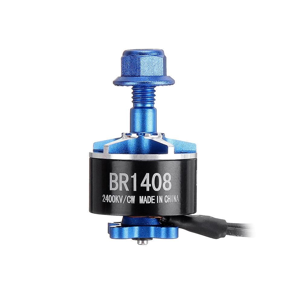 Racerstar BR1408 1408 2400KV 3600KV 2-4S Brushless Motor 5mm Shaft for CineWhoop RC FPV Racing Drone