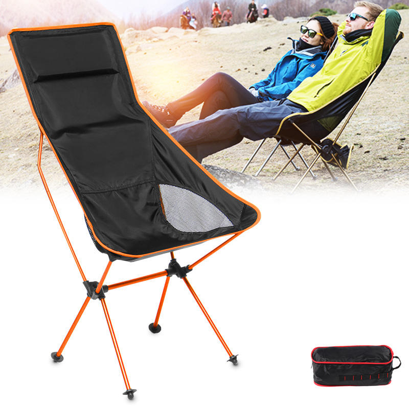 Astounding Outdoor Portable Folding Fishing Chair Aluminum Camping Chair Bbq Stool Max Load 150Kg Uwap Interior Chair Design Uwaporg