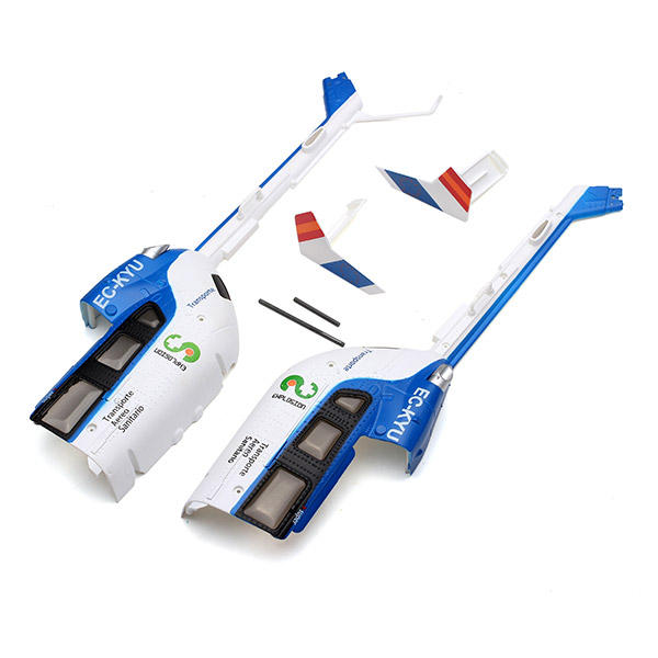 XK K124 Tail Canopy Set RC Helicopter Parts