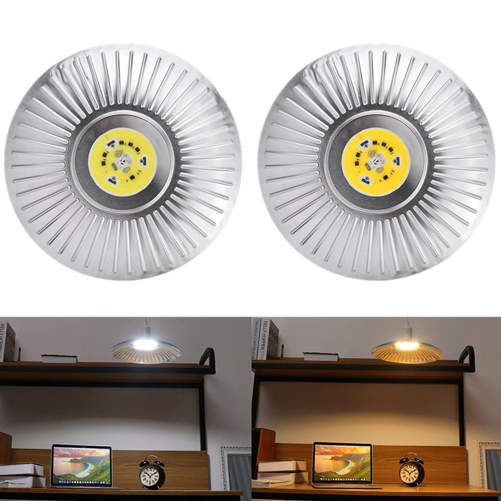 E27 50W UFO LED COB Floodlight Bulb Outdoor Warehouse Industrial Replace Halogen Lamp AC185-240V