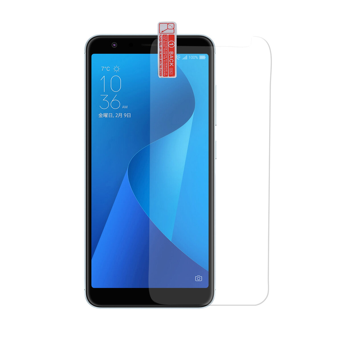 Bakeey Anti-Explosion Anti-scratch Tempered Glass Screen Protector For ASUS Zenfone Max(M1) ZB555KL