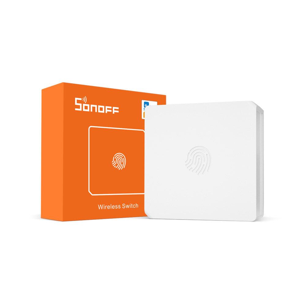 SONOFF SNZB-01 - ZB Wireless Switch Mini Size Link ZB Bridge with WiFi Devices Make Them Smarter via eWeLink APP IFTTT
