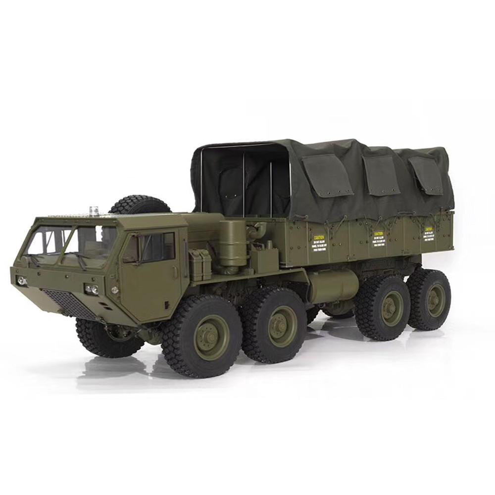 HG P801 1/12 US الجيش العسكرية شاحنة Rc قطع غيار السيارات عباءة غطاء القماش مجموعة WE8011