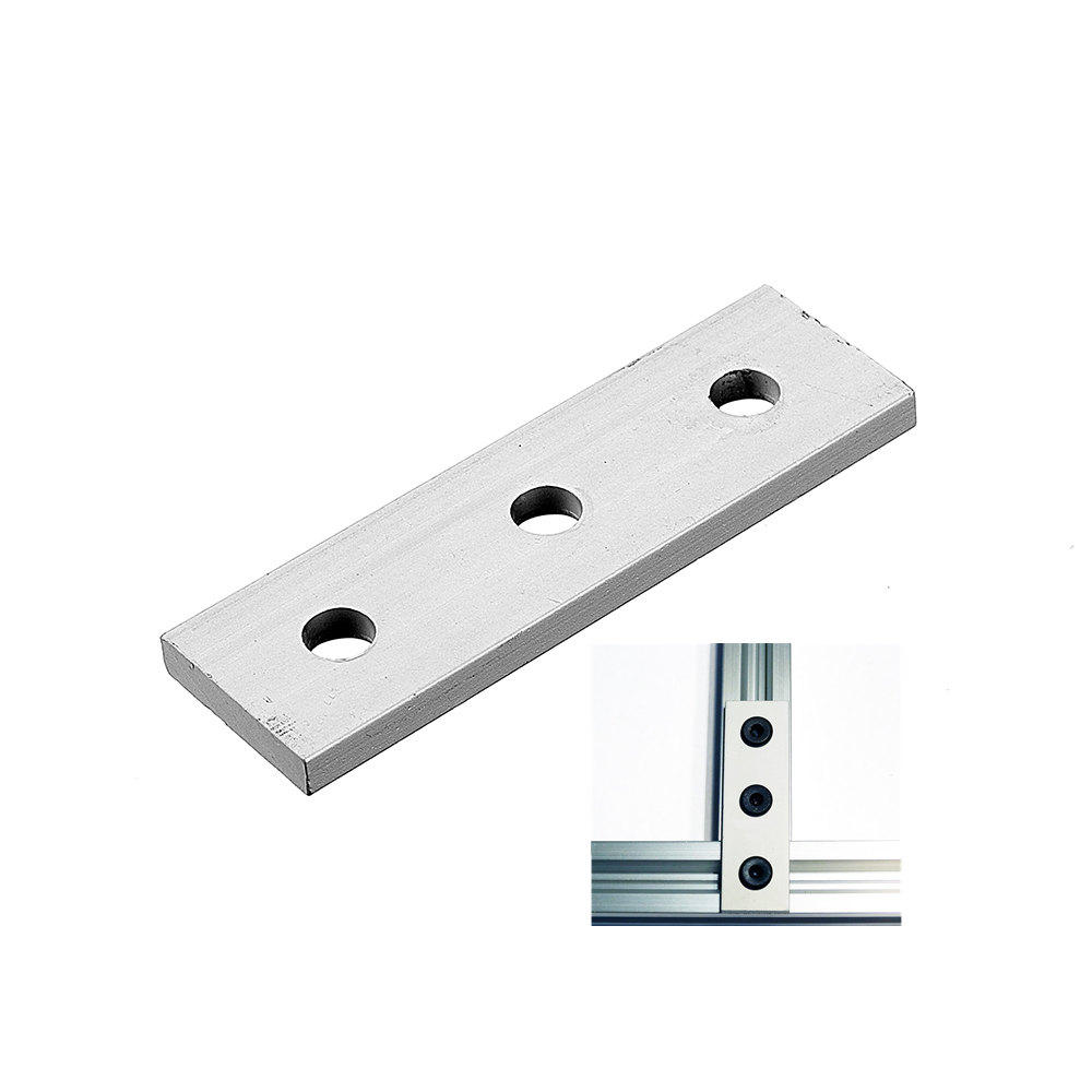 Best Low Cost Router 2020 machifit aluminum alloy 3 hole joining strip plate for cnc router