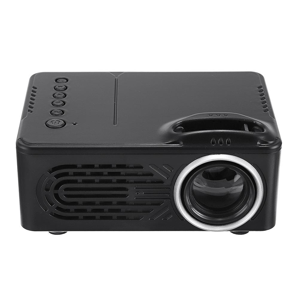 b76a8f51c990e7 Rigal RD - 814 LED Mini Projector 30 Lumens 2.0 inch LCD TFT Display Photo  Music Movie Home COD