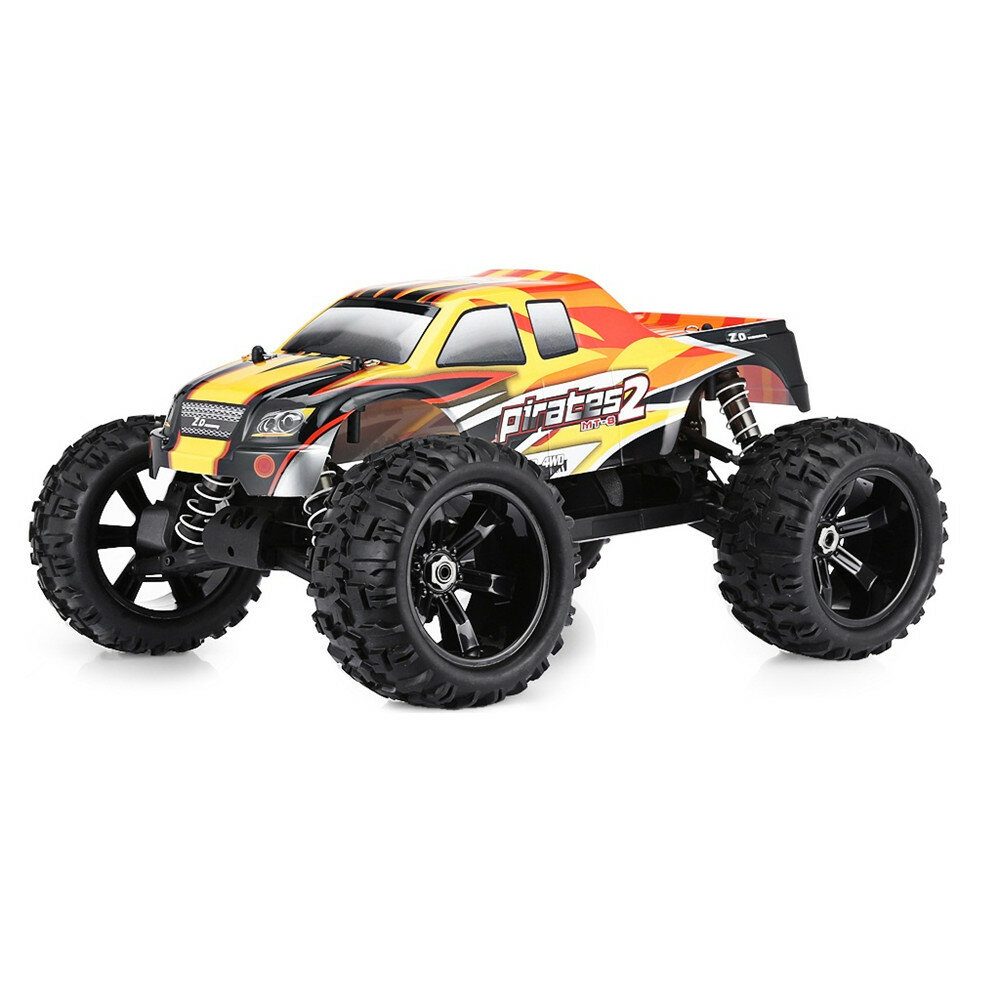 ZD Racing Two Battery 08427 1/8 120A 4WD Brushless RC Car Off-Road Truck RTR Model