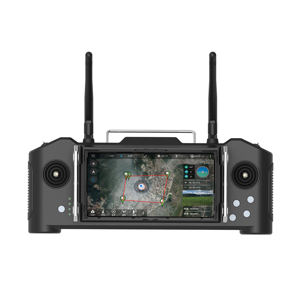 Skydroid SG12 2.4GHz 12CH FHSS 20KM Digital Signal Transmission Transmitter with Receiver and MINI-DCAM Camera for RC Drone