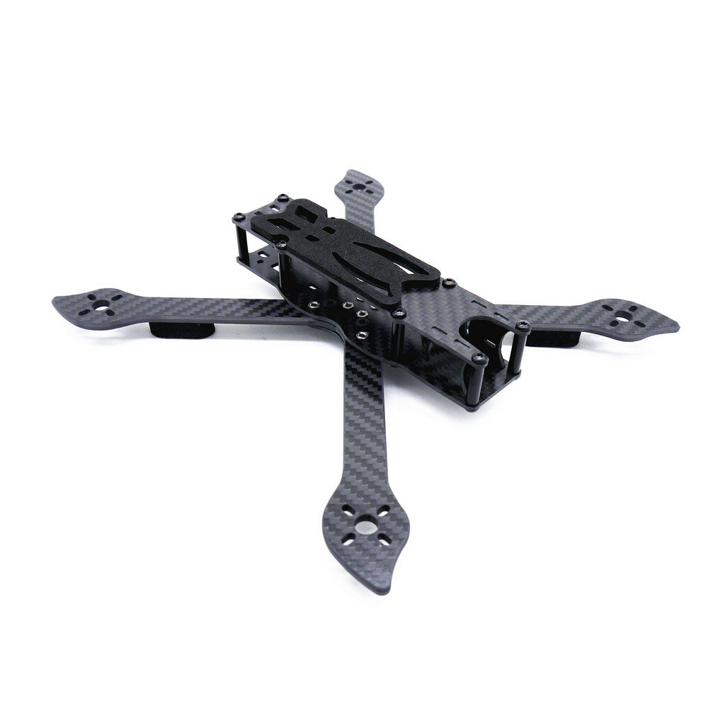 Stingy V2 235mm Wheelbase 4mm Arm Carbon Fiber 5 Inch Frame Kit for RC Drone FPV Racing
