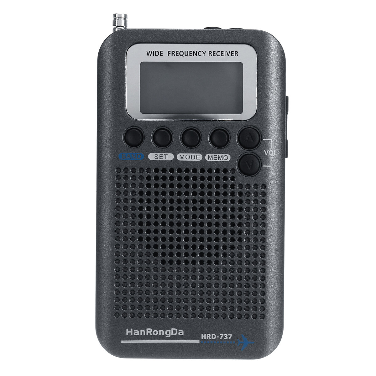 Full Bands Portable Digital AIR FM AM CB SW VHF Radio LCD Mini altoparlante stereo ricevitore