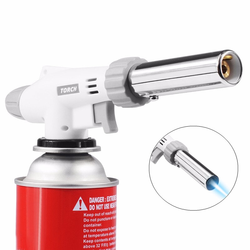 IPRee® BBQ Gas Flame Torch Stove Blowtorch Cooking Stove Burner Soldering Butane  Lighter Welding