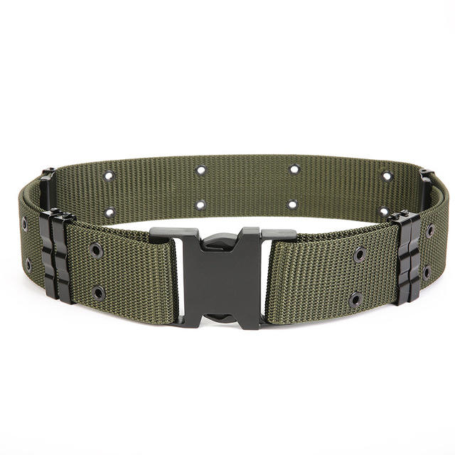 Nylon Weaving S Outer Belt Outdoor Tactical Belt Multi-function Field Special Service Combat Belt
