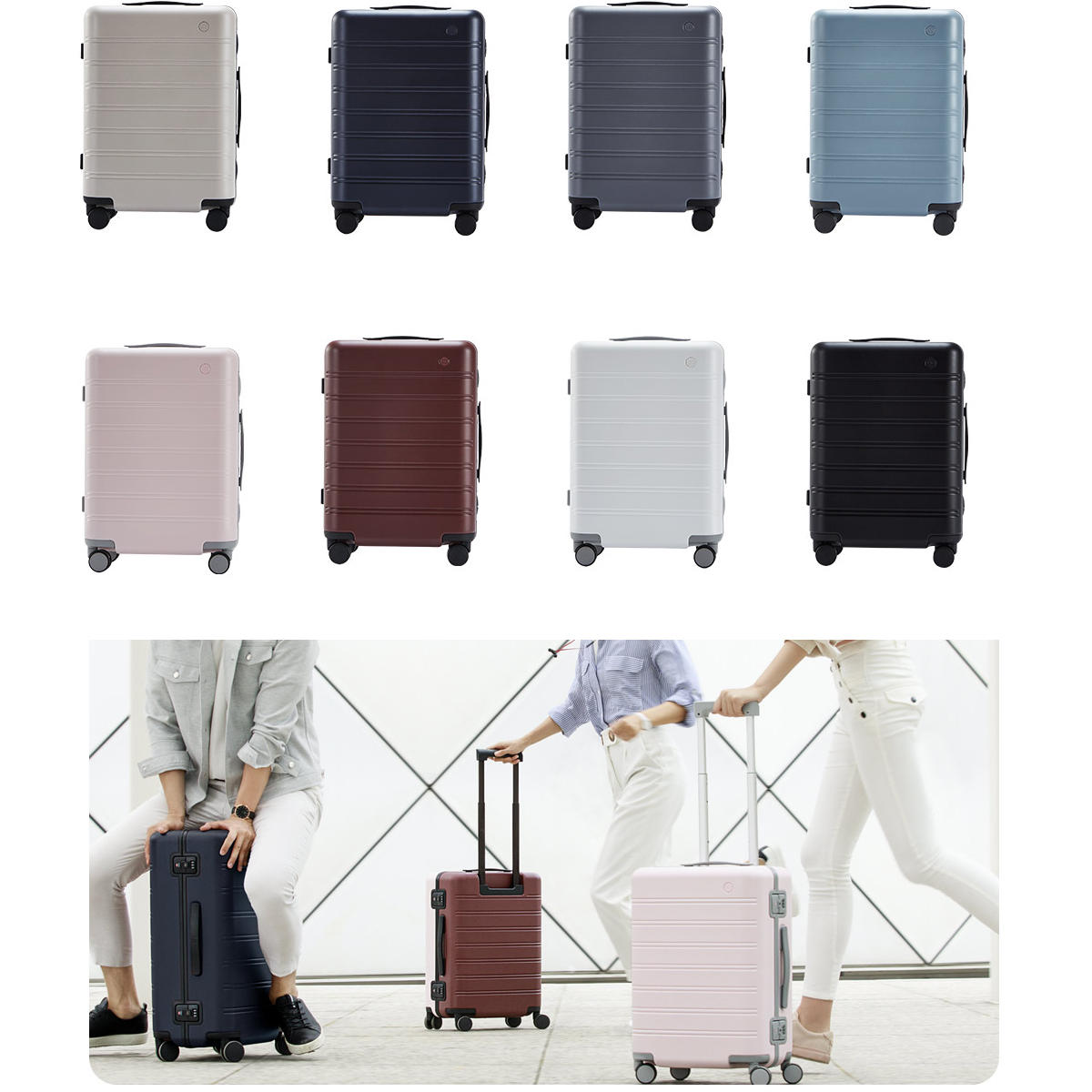 90FUN 24inch Travel Suitcase Universal Wheel Luggage Case from Xiaomi Youpin