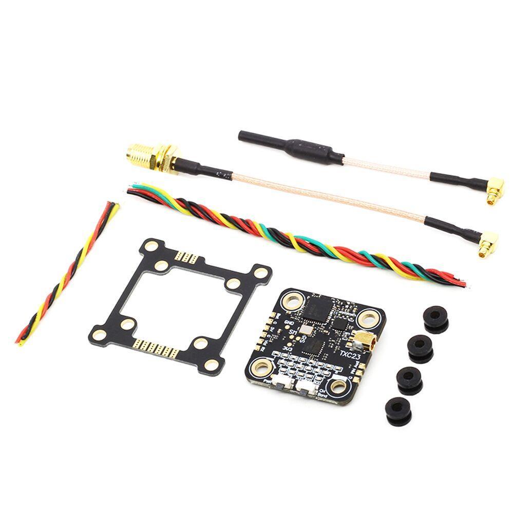 EACHINE TXC23 VTX 5.8Ghz 48CH 25/200/600/800mW FPV Mini Transmitter 28*28mm 36*36mm Mounting Board Pitmode IRC Tramp for Mobula7 Wizard x220s