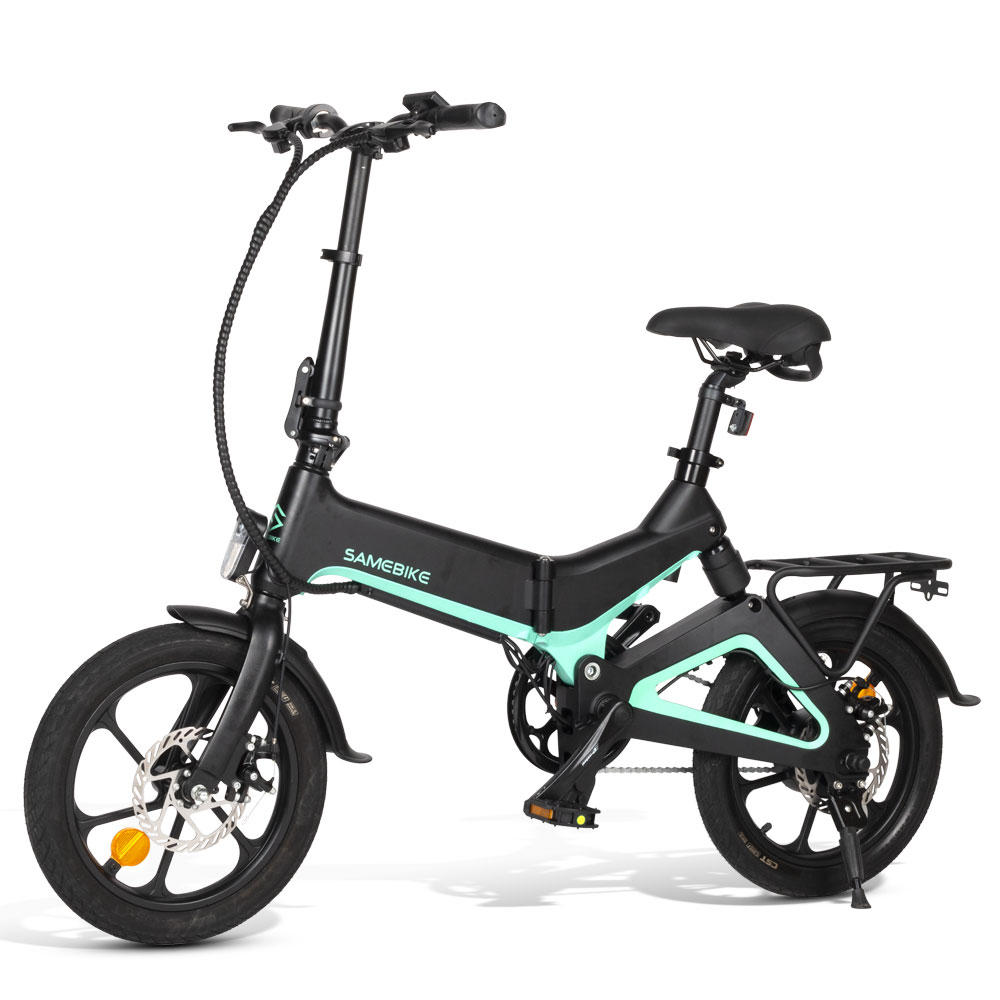 [EU Direct] Samebike JG7186 36V 250W 7.5Ah 16pollici Smart Folding Electric Moped Bike 25km/h Top Speed 65km Mileage Range E-bike...