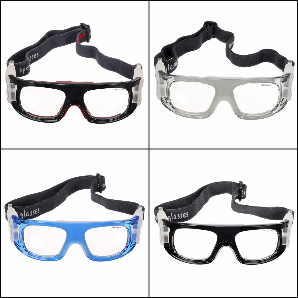 Basketball Soccer Football Sports Protective Elastic Goggles Eye Safety Glasses Tactical Glasses