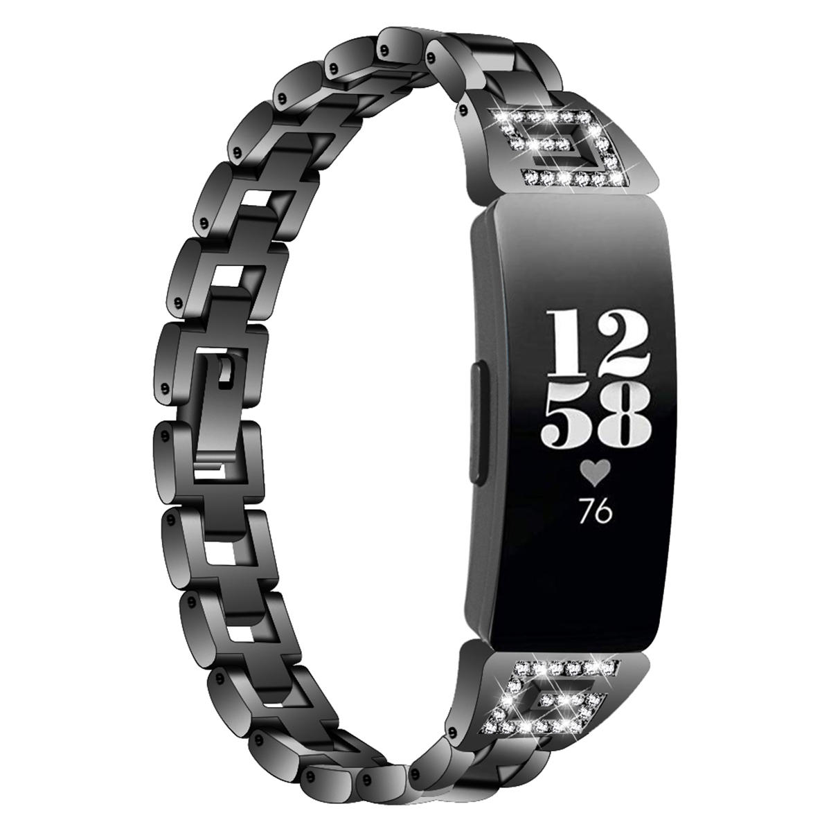 Bakeey Watch band Stainless Steel Watch Strap For Fitbit Inspire/HR