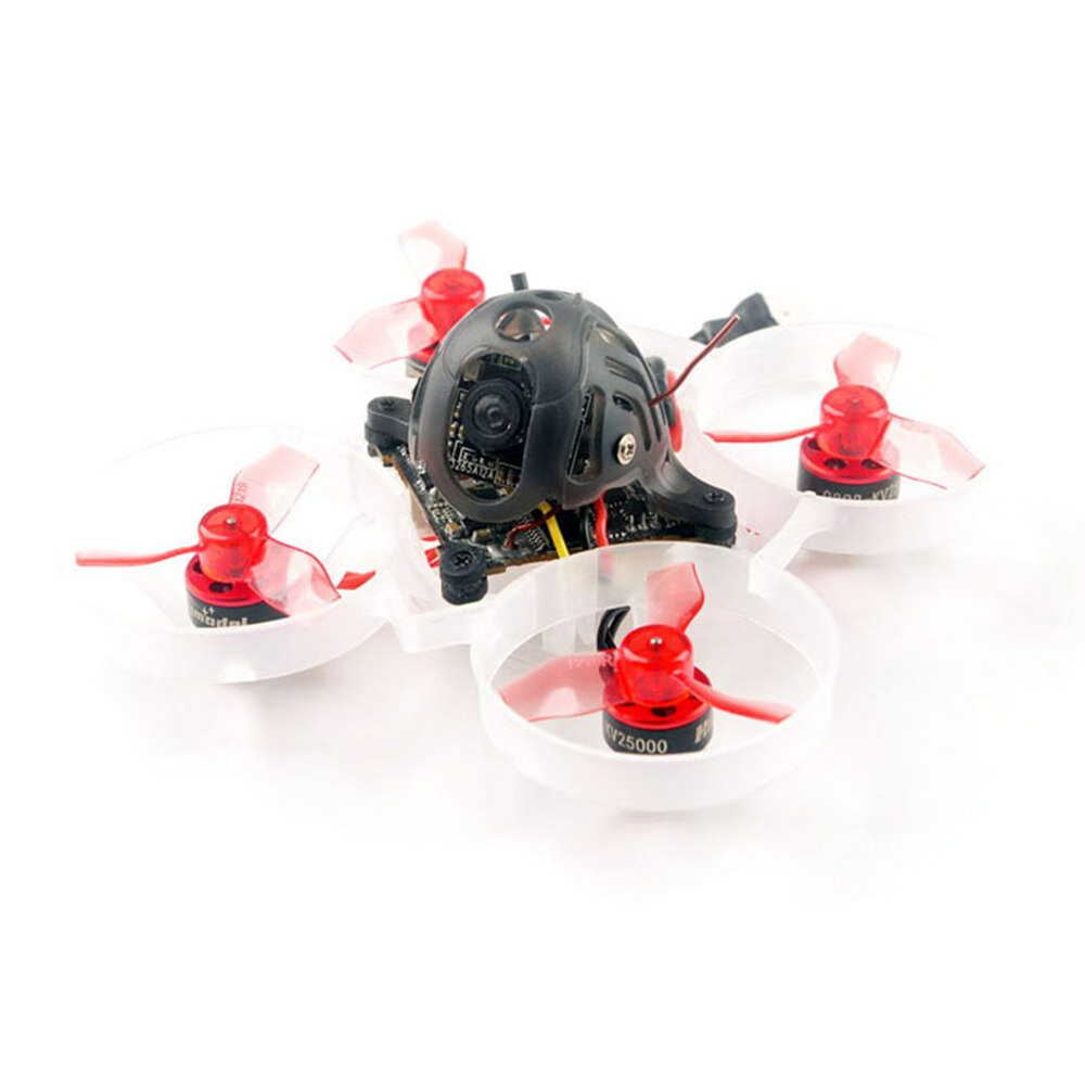 Only 20g Happymodel Mobula6 65mm Crazybee F4 Lite 1S Whoop FPV Racing Drone BNF w/ Runcam Nano 3 Cam - 19000KV FrSky Receiver