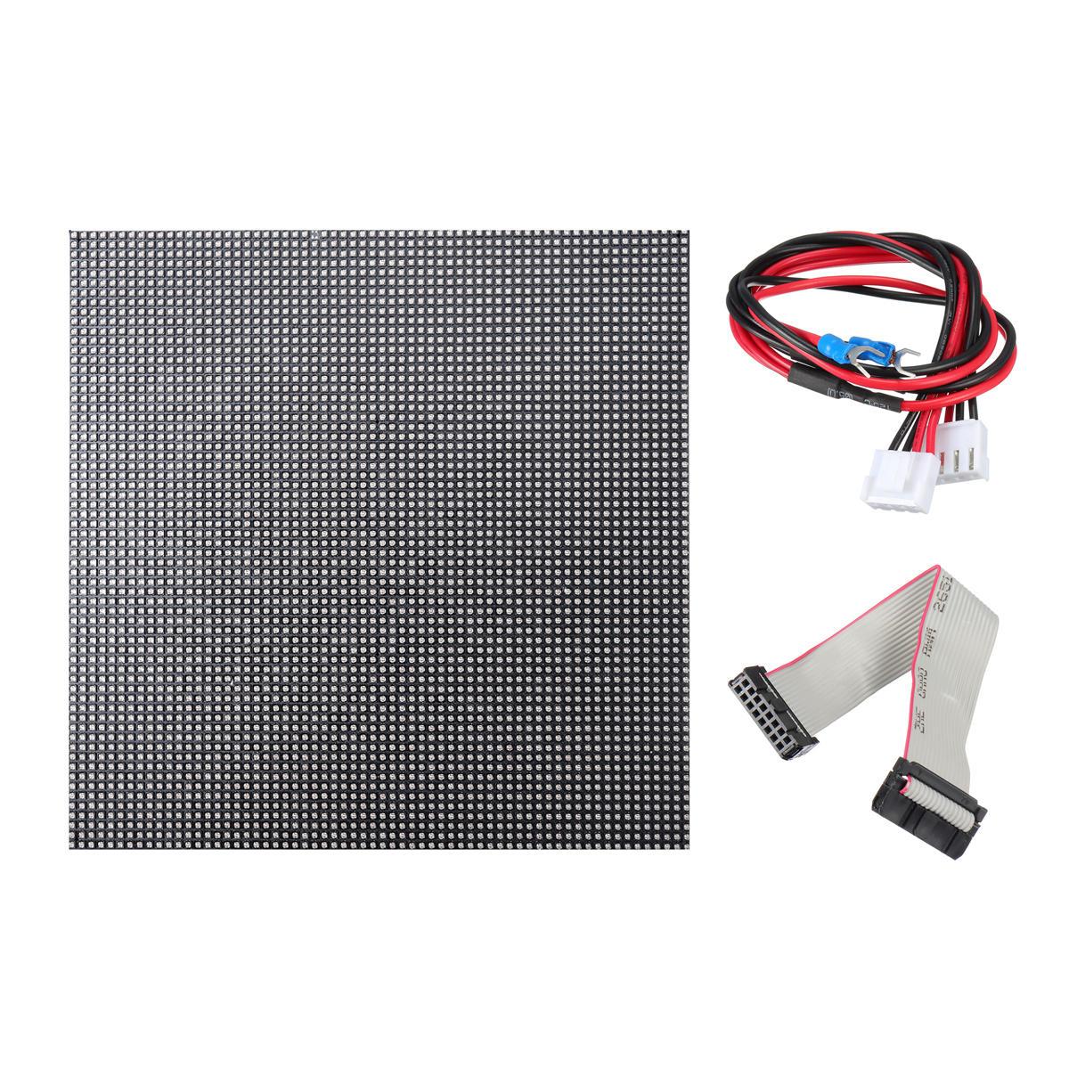P2.5 LED Display HD Full Color Screen 5V 160*160 LED Display Module Horizontal Scrolling Electronic Screen