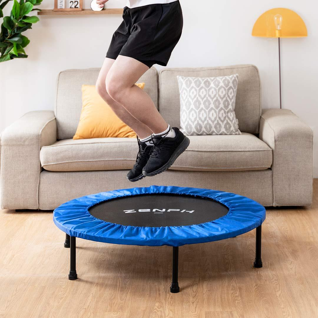 Zenph Home Gym Folding Trampoline High Elastic Trampoline Fat Burning Keep fit Exercise Tools from Xiaomi Eco-system