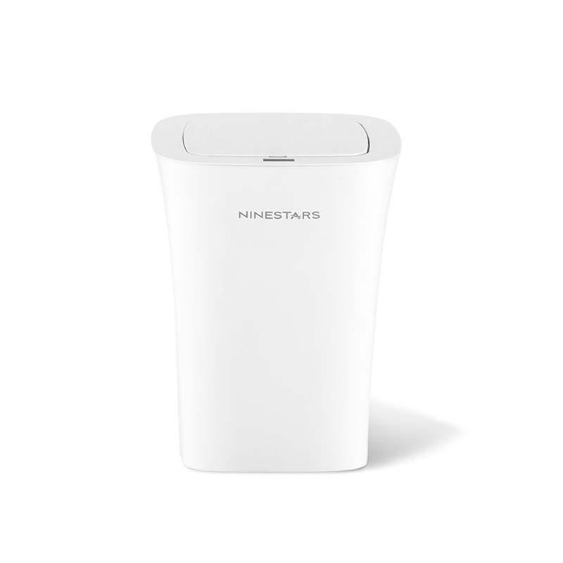 NINESTARS DZT-10-11S IPX3 Waterproof Induction Trash Can 10L Waste Bins Auto Sense Opening and Closing Adjustable Distance Ashcan Litterbin from Xiaomi Youpin